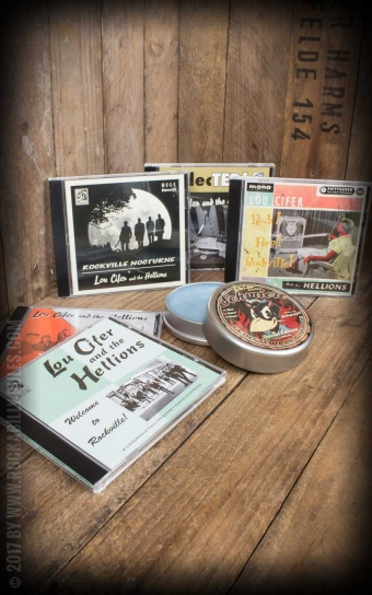 Set CD / Schmiere - Lou Cifer Collectors Pack