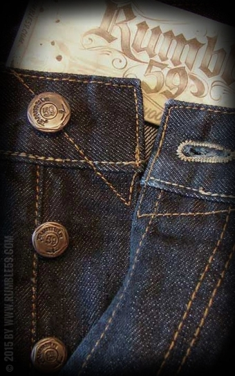 Jeans Greasers Gold