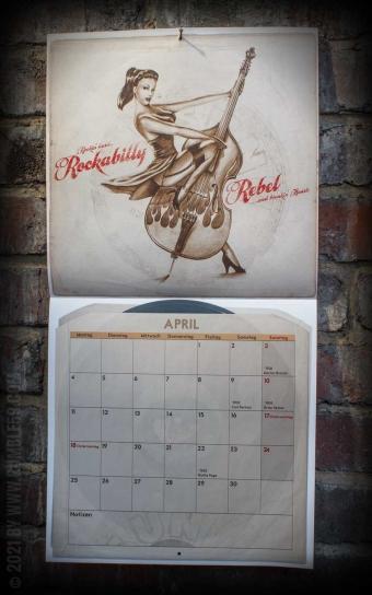 Kalender 2022 - The very Best of Rumble59