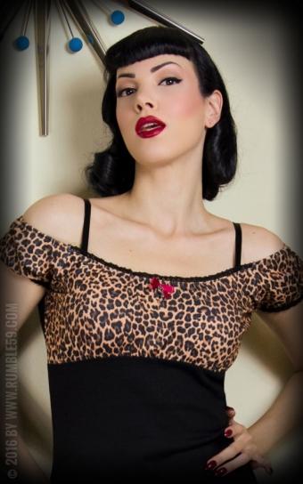 Carmenshirt Hot Leopard