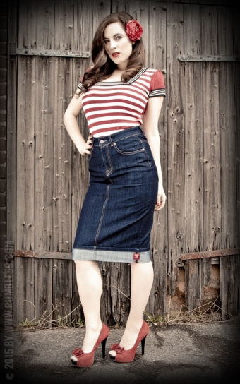 Perfect Jeans Pencil Skirt