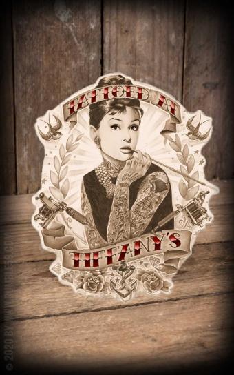 Sticker Tattoed at Tiffanys