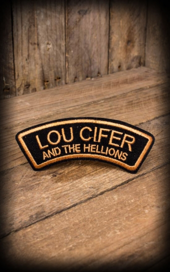 Badge à coudre Lou Cifer and the Hellions
