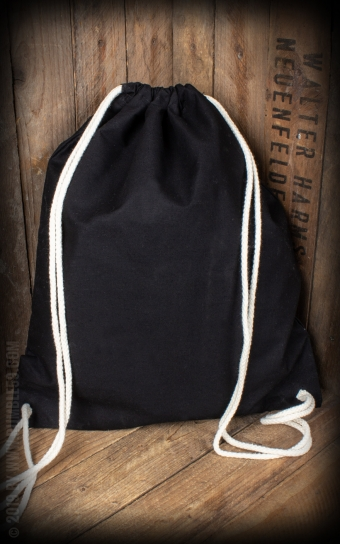 Cotton Rucksack The Man in Black