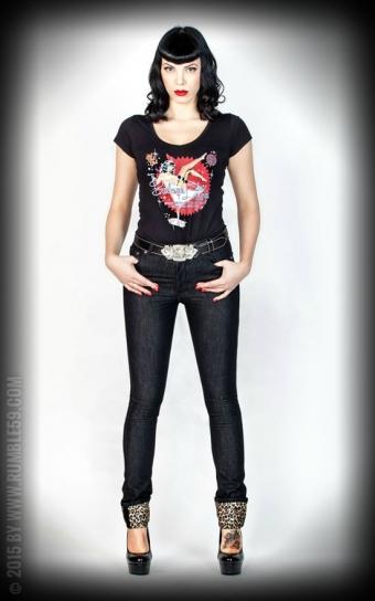 Jeans Black Marilyns Curves - Slim Fit