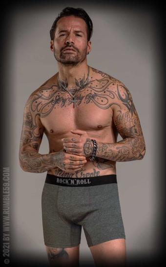 Boxershorts RnR Until I die - 3er Set, 3 Farben