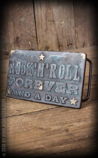 Buckle RocknRoll Forever - Vintage Patina