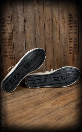 Burnout-Sneaker - bordeaux