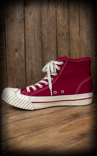 Burnout-Sneaker - bordeaux