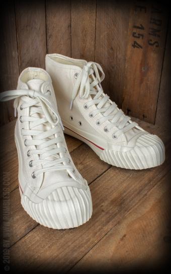 Burnout-Sneaker - creme