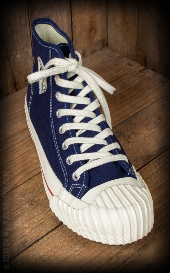 Burnout-Sneaker - marineblau