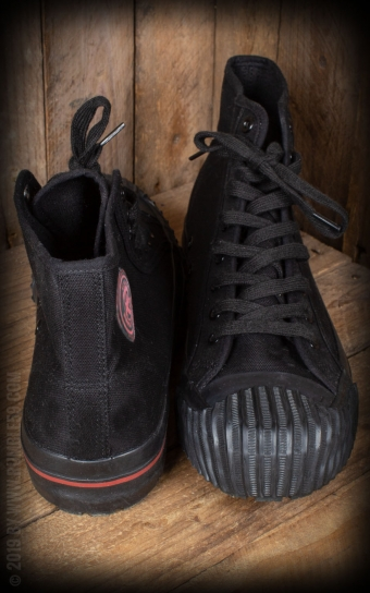 Burnout-Sneaker - black/black