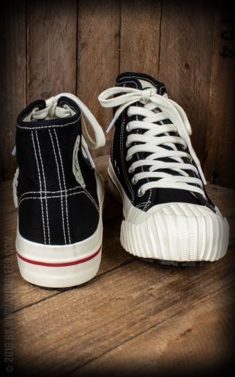 Burnout-Sneaker - schwarz