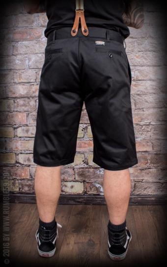 Chino Shorts California | Selvage - noir