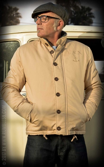 Deck Jacket - beige