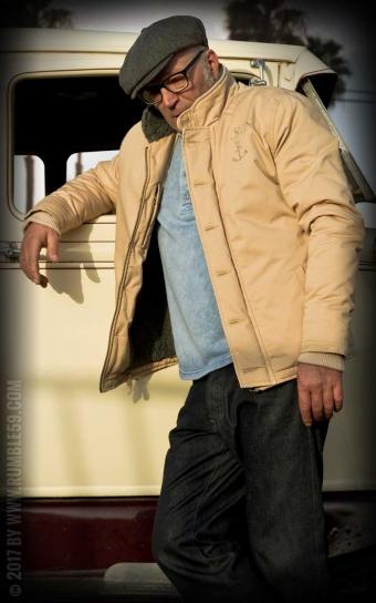 Deck Jacket - beige