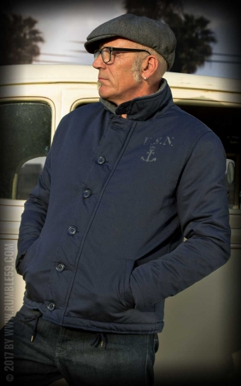 Deck Jacket - navy