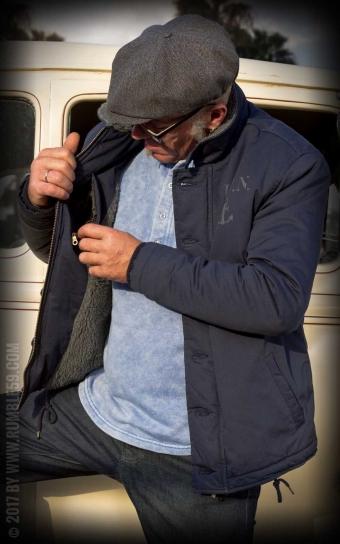Deck Jacket - bleu marine