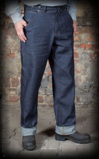 Jeans RAW Loose Fit Denim - Dapper Workman