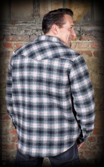 Winter Shadow Plaid Shirt - Idaho
