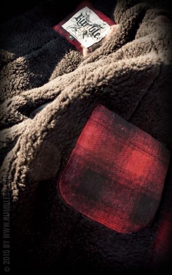 Winterjacke Toronto - rot