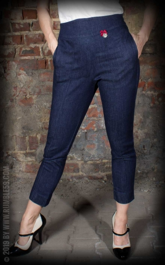 Ladies Jeans - 7/8 Pencil Pants | Bleistifthose