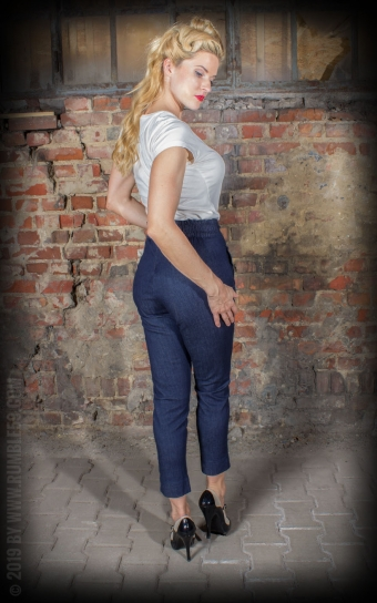 Ladies Jeans - 7/8 Pencil Pants | Bleistifthose