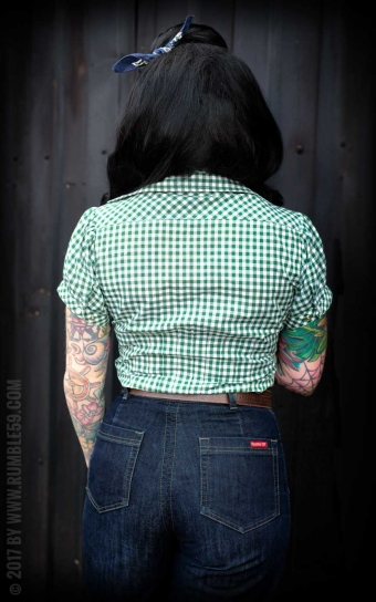 Checked Blouse Peggy Sue