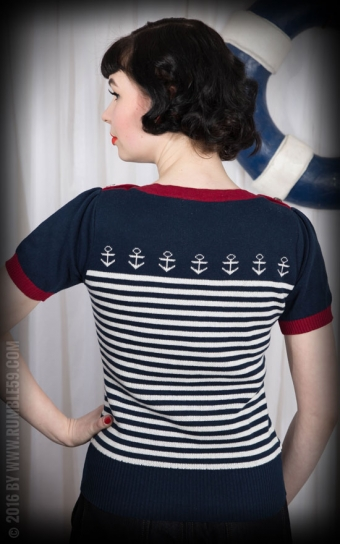 Ladies Pullover Let go anchor!
