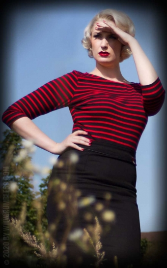 Striped Shirt Lets be Bettie!