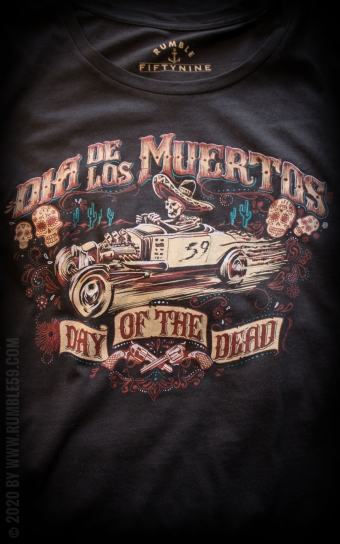 Ladies T-Shirt Day of the Dead