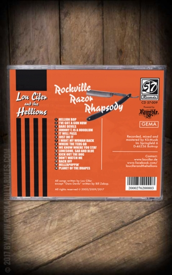 Set CD / Schmiere Pomade Lou Cifer + Rockville Razor Rhapsody