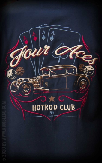 Lounge Shirt Four Aces