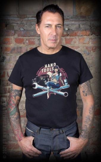 T-Shirt Hotrod Bettys Handtools