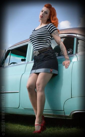 Perfect Jeans Minirock