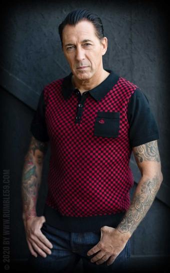 Strick-Poloshirt Indianapolis