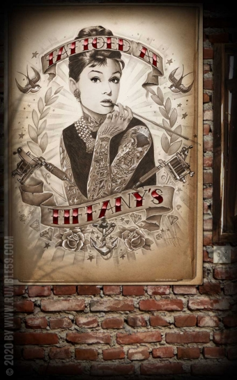 Poster - Tattoed at Tiffanys