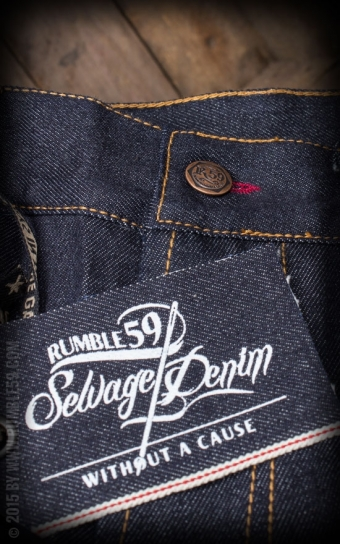 Jeans Raw Selvage Denim | Wrecking Wrench