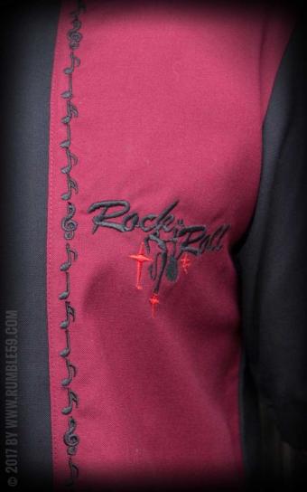 Classic Shirt RocknRoll Desert - bordeaux