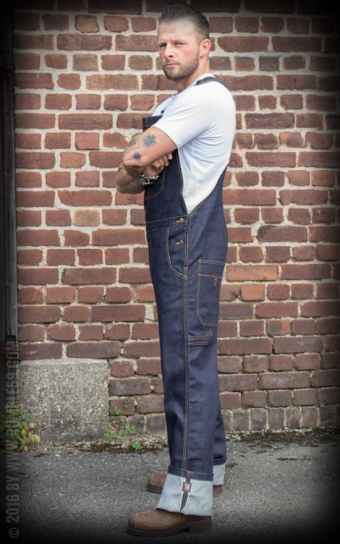 Jeans Latzhose Raw Selvage Denim | Dungarees