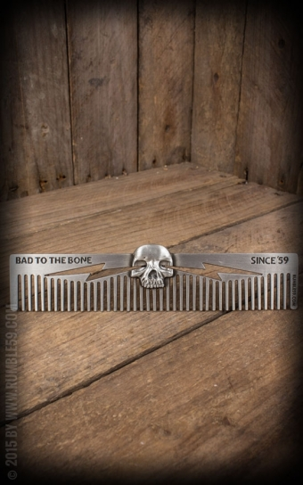 3D Kamm Skull - Bad to the Bone