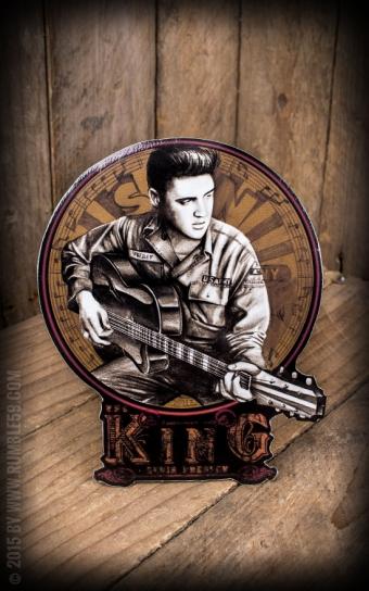Sticker Young Elvis