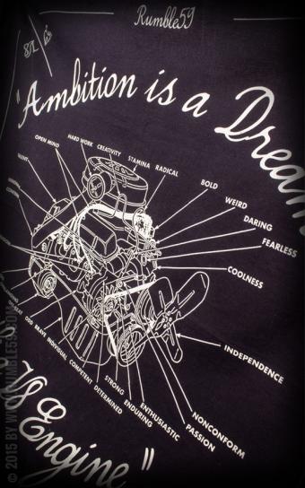 Bandana/ Halstuch Ambition is a Dream
