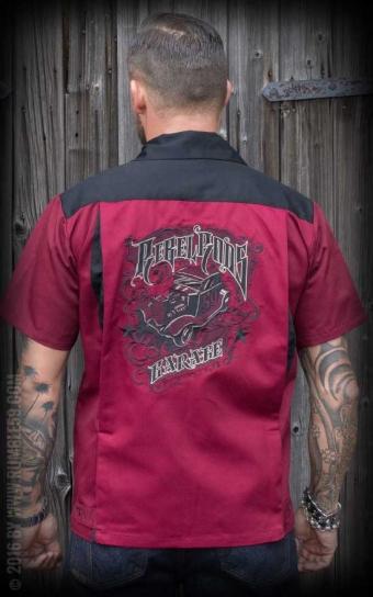 Bowling Shirt Rebel Rods