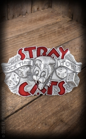 Buckle Stray Cats Rock this town