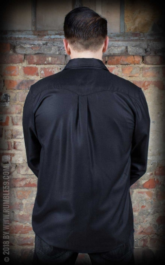 Classic Gentlemans Shirt - black