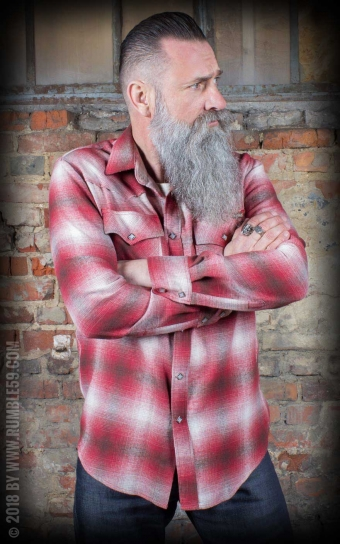 Flannel Shadow Plaid Shirt | Chemise en flanelle