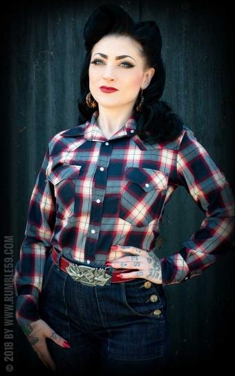 Plaid Shirt Gorgeous Girl Scout