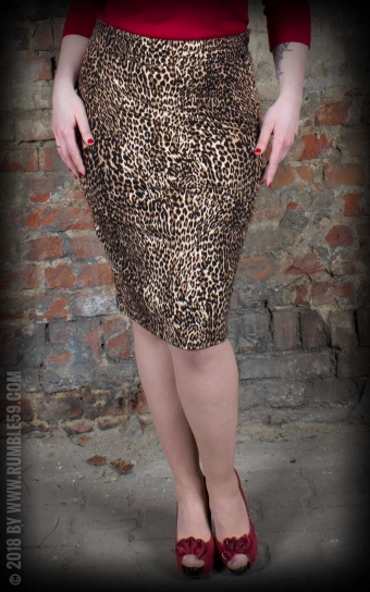 Leo Pencil Skirt The wild one