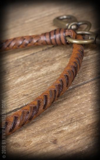 Lederkette | Leder Wallet Chain, geflochten